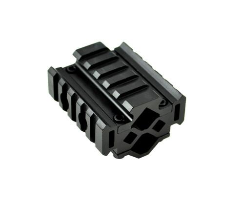 "Sniper® 2.4"" Tri Rail for Barrel OD 0.51"" - 0.78"" with Laser Clamp"