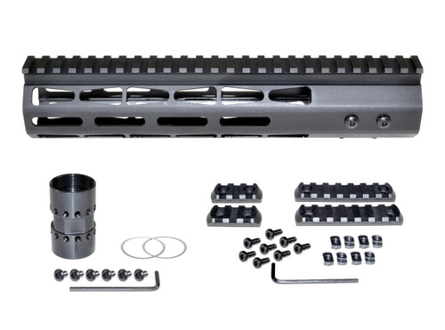 "Presma® AR-10 LR 308 Super Light M-LOK Series Free Float Handguards, 10"" DPMS Low Profile"