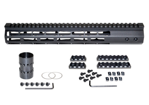 "Presma® AR-10 LR 308 Super Light M-LOK Series Free Float Handguards, 13"" DPMS Low Profile"