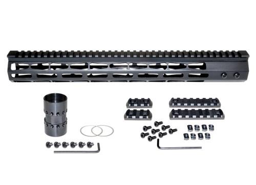 "Presma® AR-10 LR 308 Super Light M-LOK Series Free Float Handguards, 15"" DPMS Low Profile"