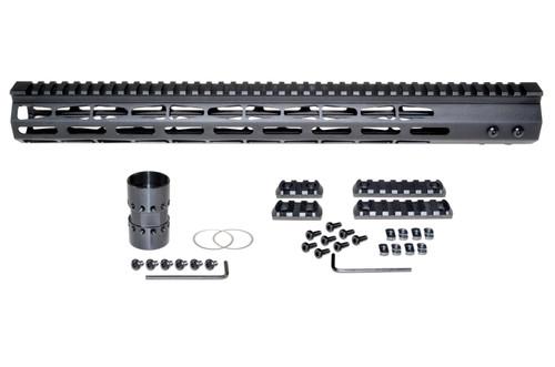"Presma® AR-10 LR 308 Super Light M-LOK Series Free Float Handguards, 17"" DPMS Low Profile"