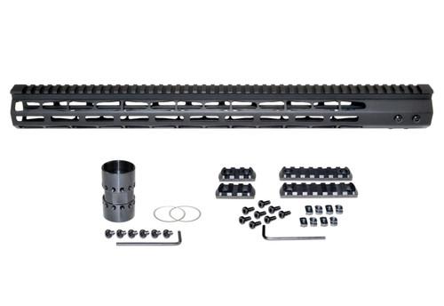 "Presma® AR-10 LR 308 Super Light M-LOK Series Free Float Handguards, 19"" DPMS Low Profile"