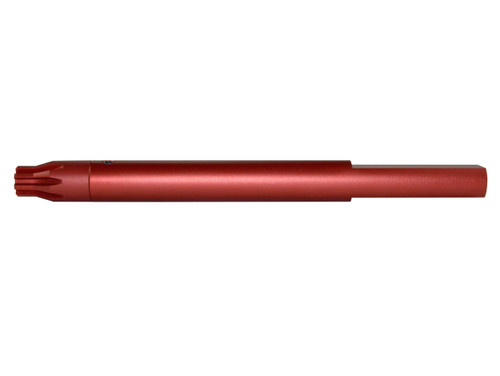 ".223 Barrel Vise Block Rod for .750"" - AR-15, Red"