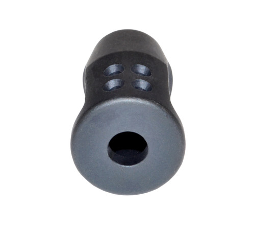 1/2x28 Muzzle Brake, Black Steel - AR-15 (ASMZ36)