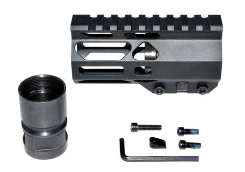 "New Presma® Super Light Slim Free Float M-LOK Handguards, 4.2"" AR-15 223/5.56."