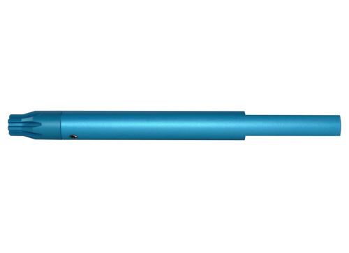 """.223 Barrel Vise Block Rod for .750"""" - AR-15, BLUE"""