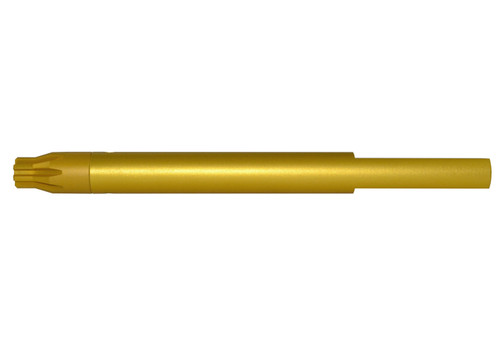 ".223 Barrel Vise Block Rod for .750"" - AR-15, GOLD"