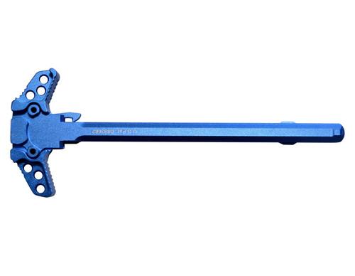 Presma Inc Ambidextrous AR-15 Charging Handle, Dark Blue
