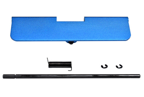 AR-15 Aluminum Ejection Port Dust Cover Assembly, Blue