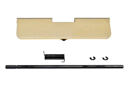 AR-15 Aluminum Ejection Port Dust Cover Assembly, Gold