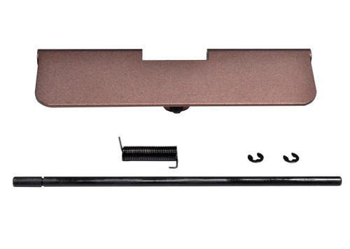 AR-15 Aluminum Ejection Port Dust Cover Assembly, Brown