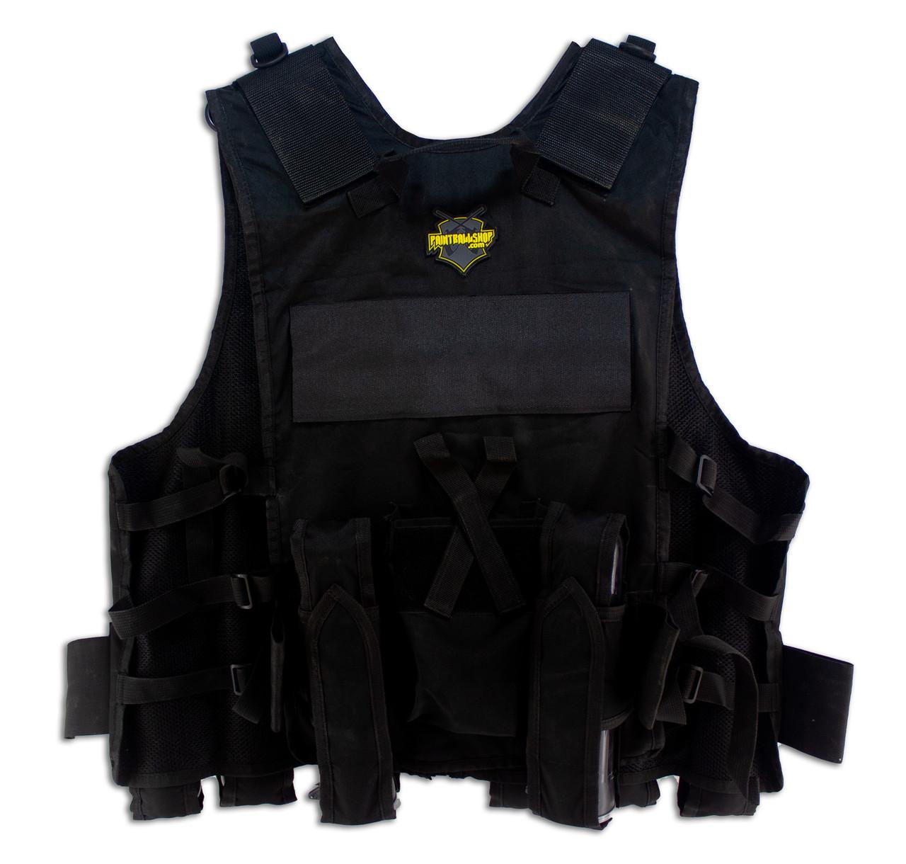 Paintballshop - TAC86 Assault Vest - Black