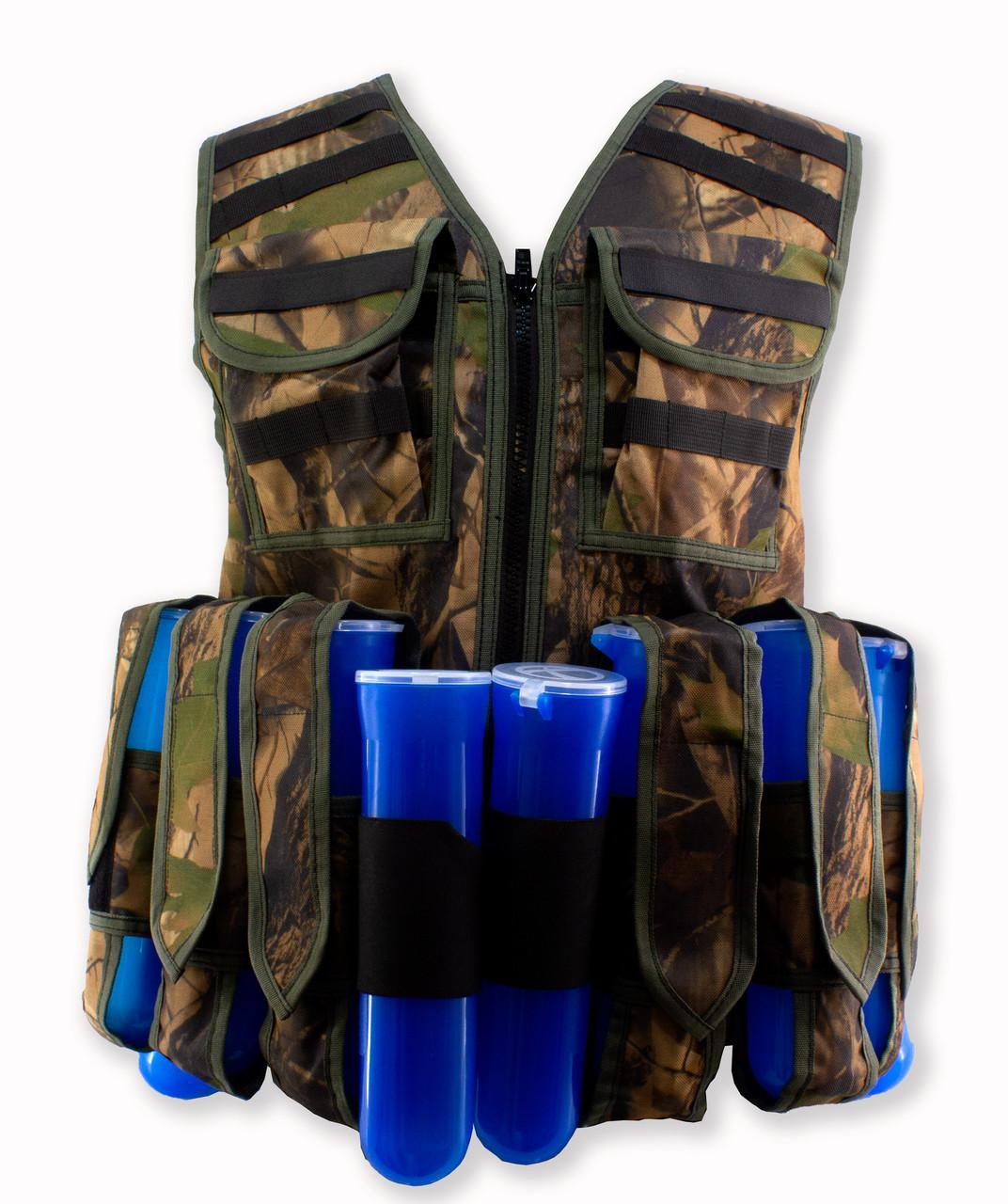 Paintballshop - TAC86 Assault Vest - Woods
