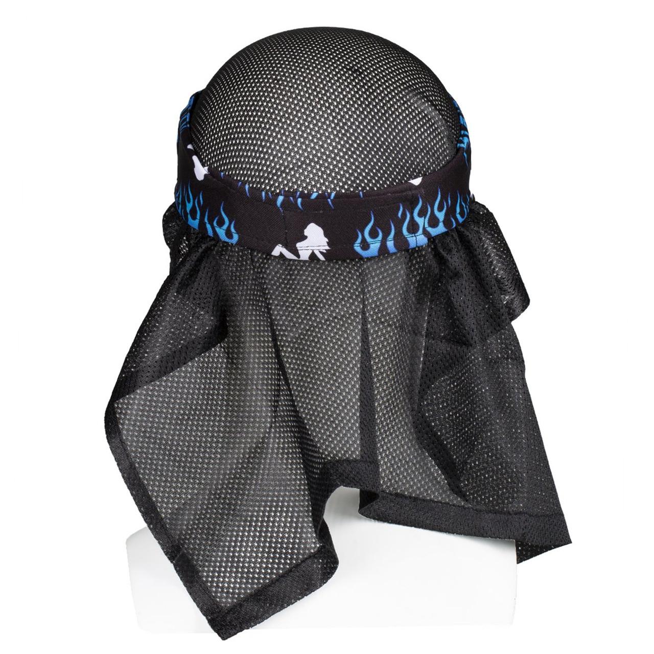 HK - Headwrap - Trucker Blue