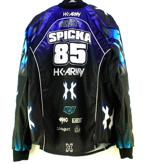 HK - Dynasty LE Team Jersey - Kyle Spicka - Signed - L