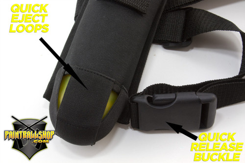 Paintballshop - 1 Pod Harness - Field Lite Edition
