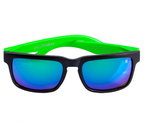 HK - Vizion Sunglasses - Electric (Blk/Grn)
