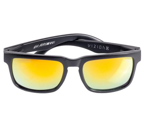 HK - Vizion Sunglasses - Stealth (Blk/Red)