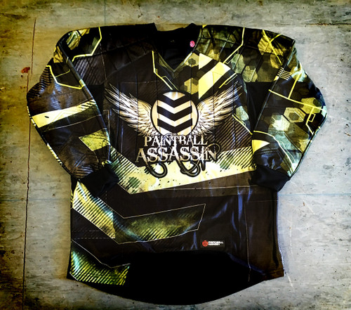 Paintball Assassin Dynamic Jersey - Iron