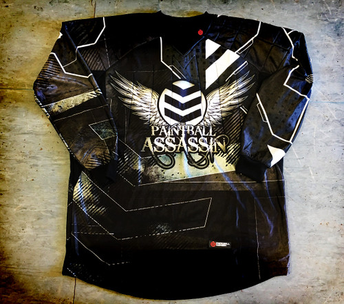 Paintball Assassin Dynamic Jersey - Raven