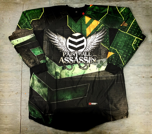 Paintball Assassin Dynamic Jersey - Torch