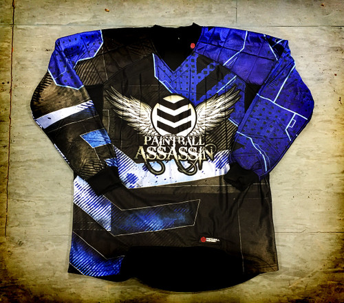 Paintball Assassin Dynamic Jersey - Glacier