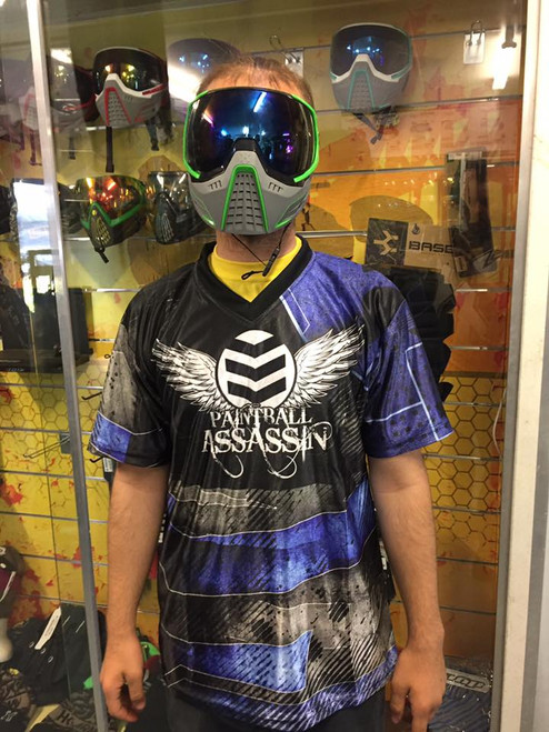 Paintball Assassin DryFit Jersey - Glacier