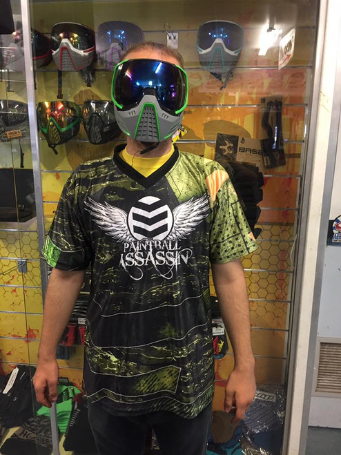 Paintball Assassin DryFit Jersey - Tiger