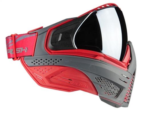 Push - Unite Goggle - Grey/Red
