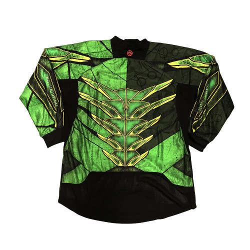 Paintball Assassin - Protocol Jersey - Lifeforce Green