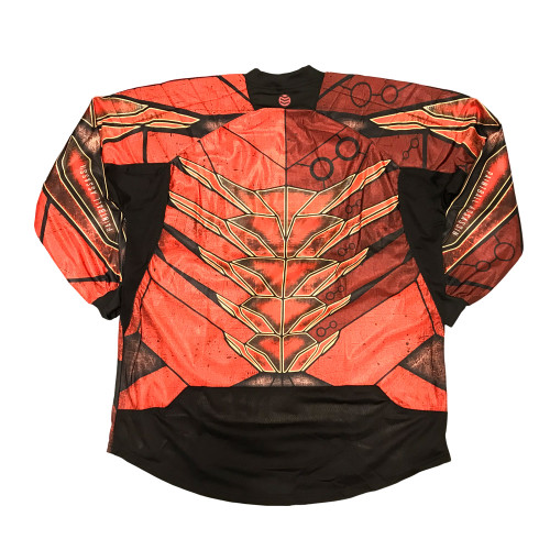 Paintball Assassin - Protocol Jersey - Deathmaw Red