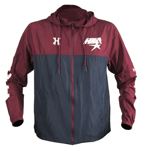 HK - Slash Zip Up Windbreaker - Houston Heat