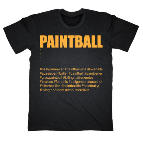 Paintballshop.com - Tshirt - Paintball Hashtags