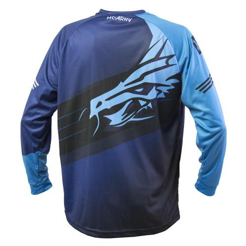 HK - Practice Dryfit Longsleeve - Dynasty - Blue