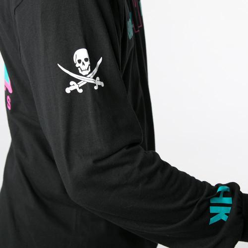HK - OG Longsleeve - Black/Teal/Pink