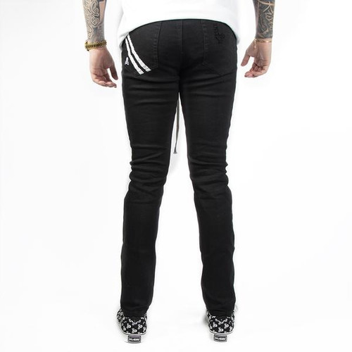HK - Thrasher Black Denim Jeans