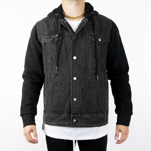 HK - Collide - Denim Jacket w/ Hood