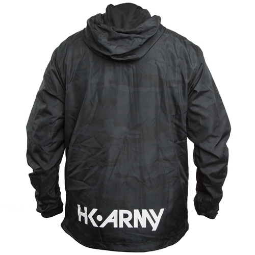 HK - Slash Zip Up Windbreaker - Blackout