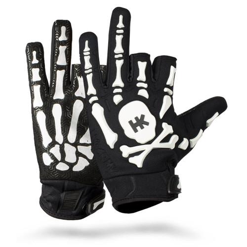 HK - Bones Glove - Black/White