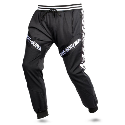 HK - TRK Jogger Pants - Retro Stripe Black