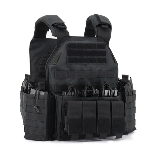 XRT - TACVT8944 Deluxe Plate Carrier - Black