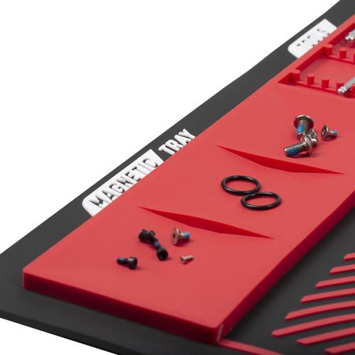 HK - MagMat - Magnetic Tech Mat - Black/Red