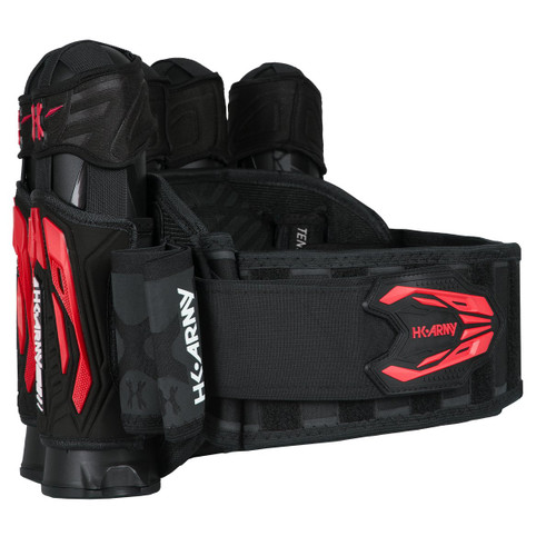 HK - Zero G 2.0 Harness 5+4 - Black/Red