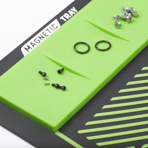 HK - MagMat - Magnetic Tech Mat - Black/Neon Green