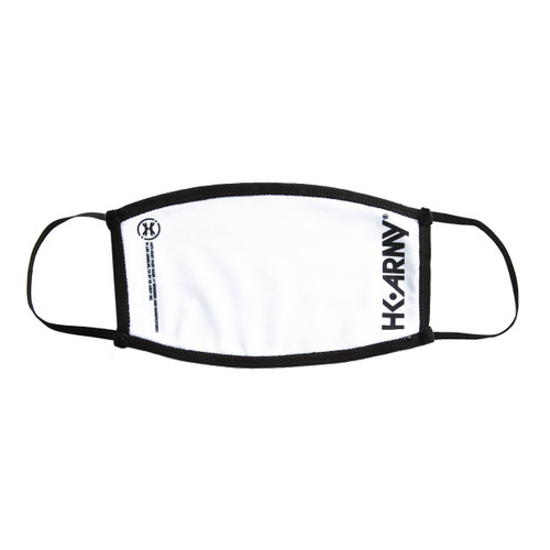 HK - Facemask - Essentials White/Black