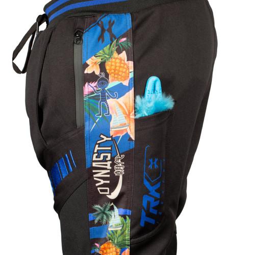 HK - TRK Jogger Pants - Aloha Black