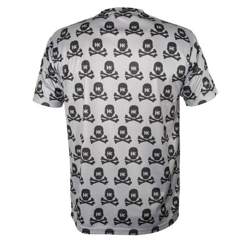 HK - DryFit - All Over Grey Skulls