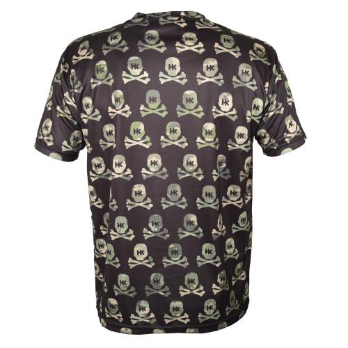 HK - DryFit - All Over Recon Camo Skulls