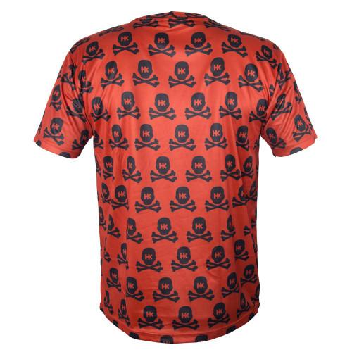 HK - DryFit - All Over Red Skulls