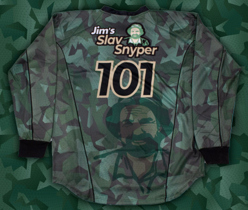 Jims Paintball Crew Custom Jersey